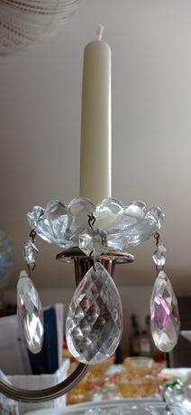 Aros de vidro para velas