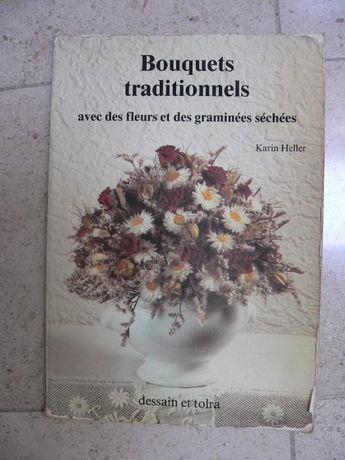 Bouquets tradicionais com flores secas