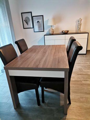 Mesa Sala de Jantar + 4 cadeiras