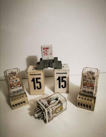 Przekaźniki nowe różne R15 R2M AC DC 6V 12V 24V 60V 110V 120V 220