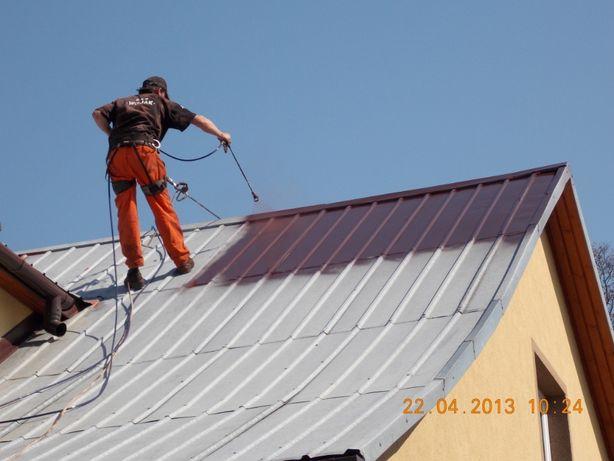 Malowanie Czyszczenie Mycie Dachów , Elewacji