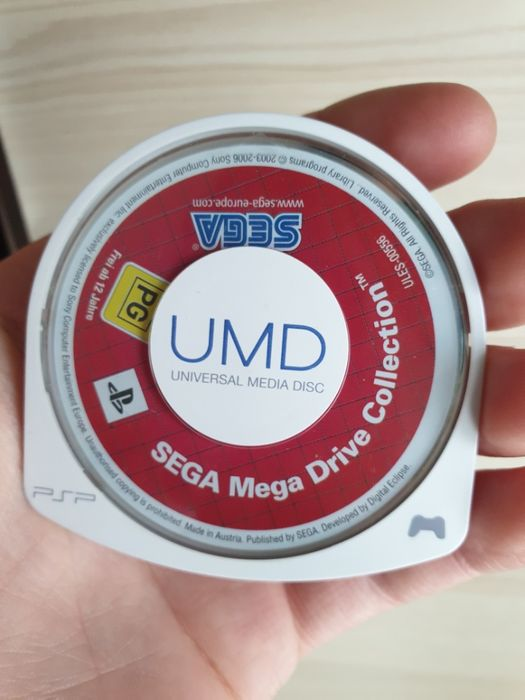 Gra na Konsolę PSP SEGA MEGA DRIVE COLLECTION Okazja Sprawdź tanio Przeworsk - image 1