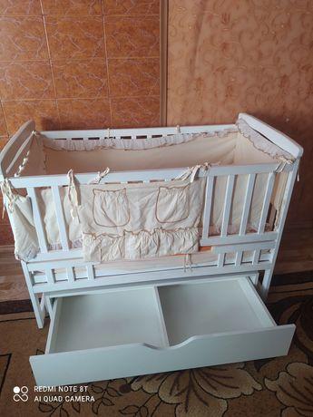 Дитяча кроватка ліжечко для дитини