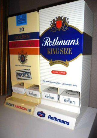 Dispensadores Vintages Publicitários de Tabaco