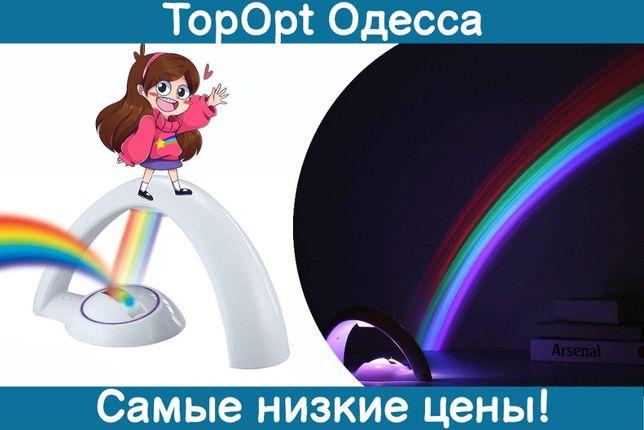 Детский проектор радуга ночник Lucky Rainbow проекция радуги