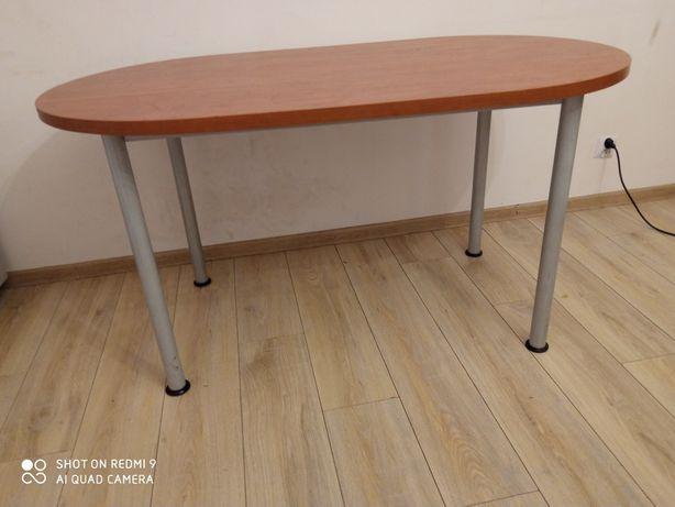 Duże proste biurko
