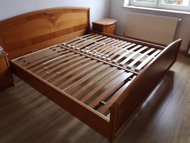 łóżko 180x200 drewno
