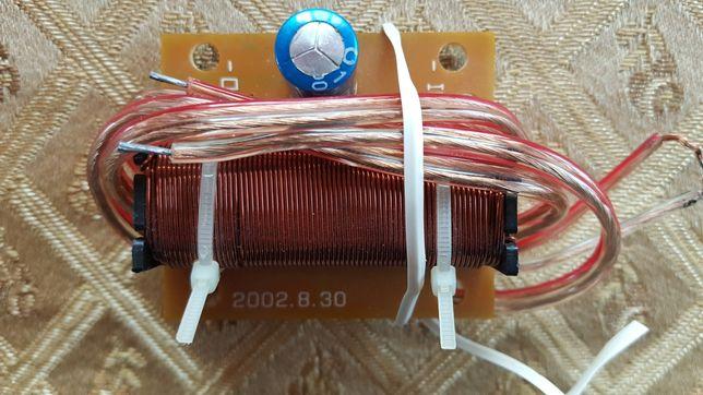 Osłony głośników 165, filtr dolnoprzepustowy - do samochodu.