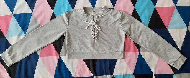 Bawełniana bluza krótka