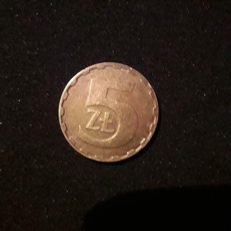 5zl.1987r.ladna zadbana moneta,polecam