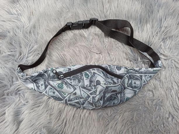 Nerka torba dolary money pieniądze