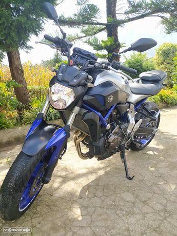 Yamaha MT-07 55kw