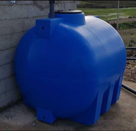 Depósito horizontal 2000 litros
