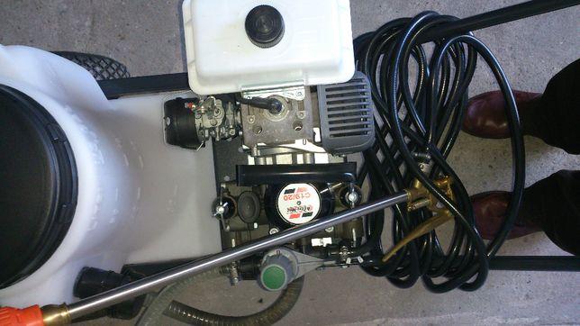 Opryskiwacz spalinowy wózkowy (taczkowy) Oleo-Mac Emak Unigreen NOWY