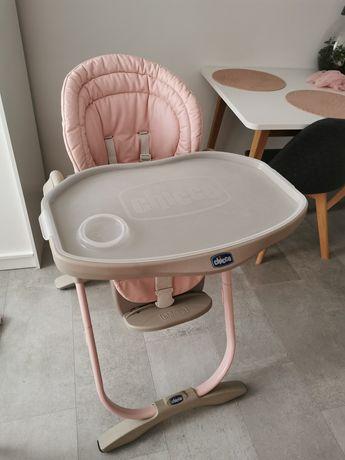 Fotelik Chicco Polly 3w1 różowy fotelik do karmienia