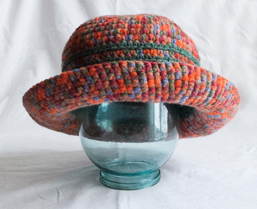 Шляпа женская вязаная Одесса - изображение 1