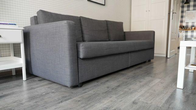 Sofa IKEA FRIHETEN rozkładana 3-osobowa | BDB | Katowice