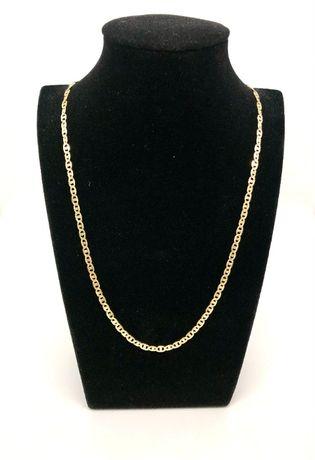 PIĘKNY złoty łańcuszek pr.585 14K / waga: 7,75 gram / długość: 55cm