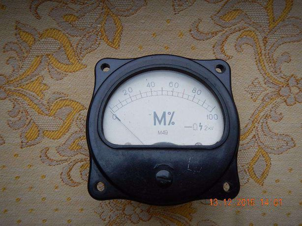 Милиамперметр М 49 ссср