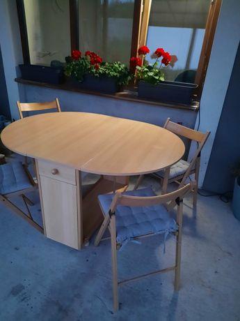Стіл книжа з стільцями стіл кухоний садовий