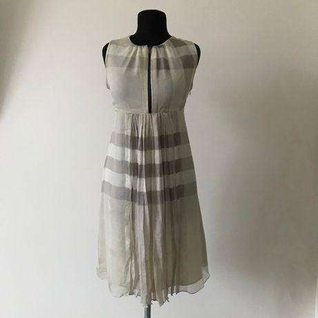 Burberry платье оригинал шелк Brunello Cucinelli
