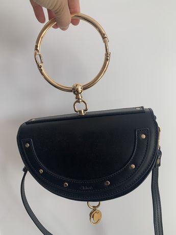 Chloe Nile Bracelet mini bag torebka skóra