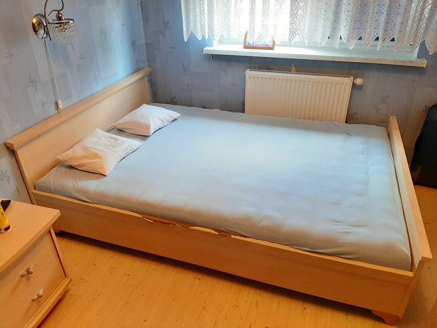 Łóżko sypialnia brzoza 207x146x69