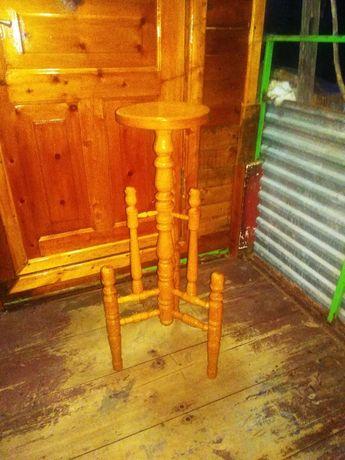 подставка. подставка под цветок деревянная ручной роботы