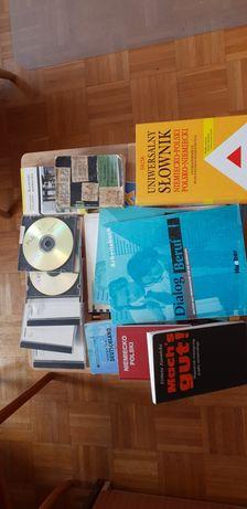 Książki i płyty do nauki niemieckiego