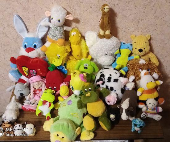 Мягкие яркие игрушки 250 грн