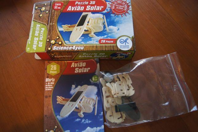 Avião Solar (Science4You)