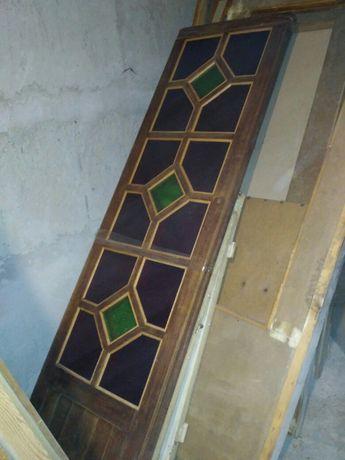 Двери дверное полотно деревянные витражные стекла