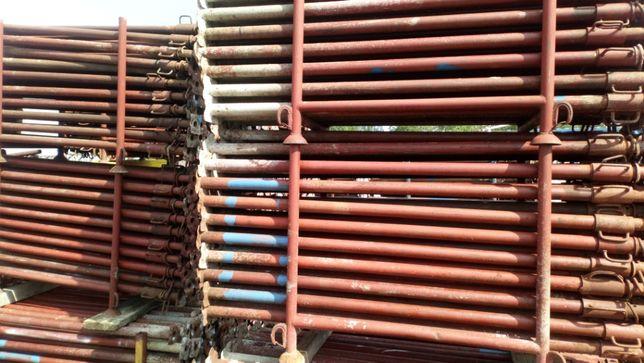 Stemple budowlane regulowane Podpora Dźwigar H20 Trójnoga Głowica