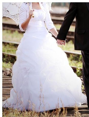 Piękna Suknia Ślubna roz 34.