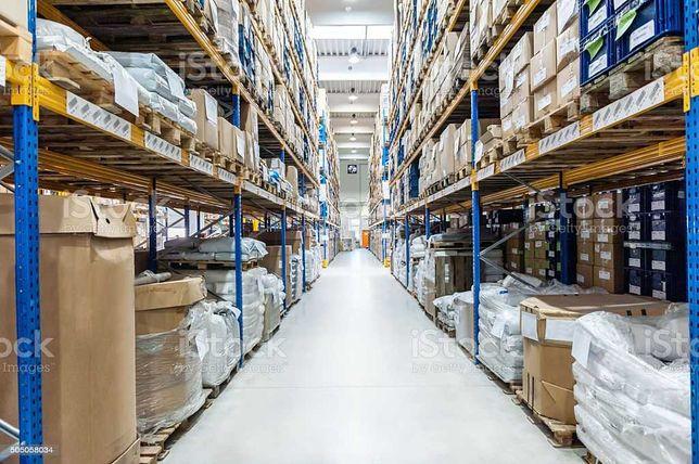 Usługi magazynowe i logistyczne, e-commerce