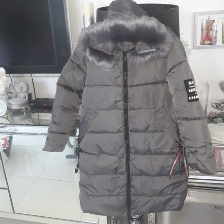 Płaszcz ocieplany , pikowany jesienno/zimowy r.xxl