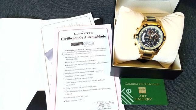 "Preço negociável Relógio-Cronógrafo ""CERAMIC CHRONO"" + oferta"