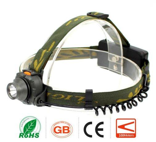 Налобный фонарь аккумуляторный с датчиком движения 1505 (BL-6616)