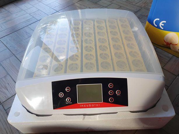 Inkubator gwarancja obracarka wylęgarka klujnik 56 jaj jak nowy
