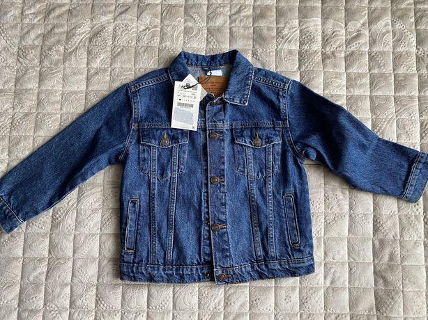Джинсовая куртка Zara (5 лет, 116см)