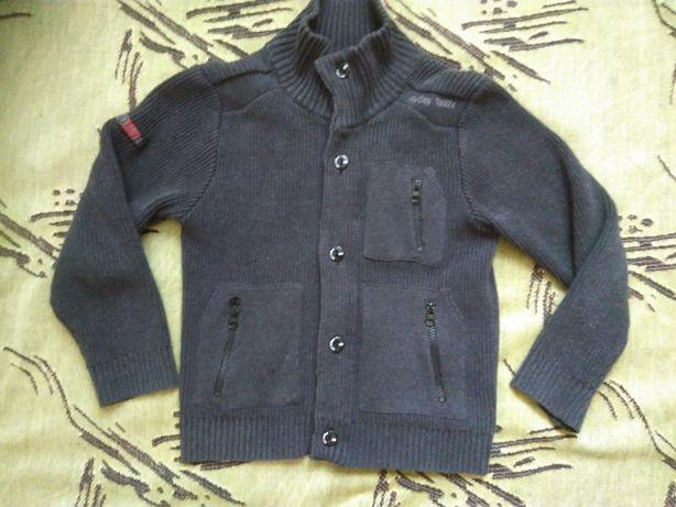 Пиджак трикотажный Next р.128см, 8 лет, состояние хорошее
