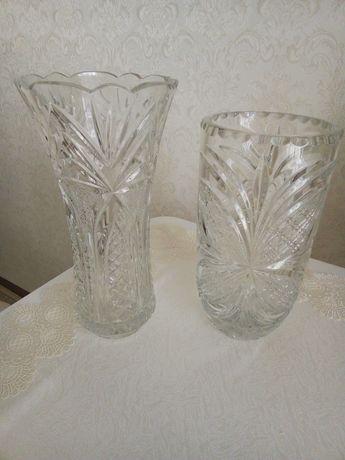 Кришталеві вази, чеський кришталь, нові