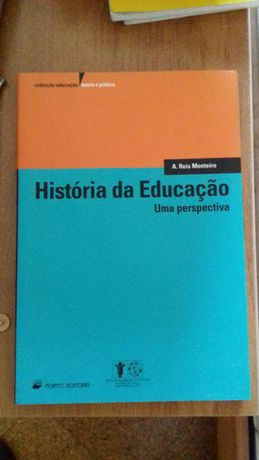 Livro 'História da Educação'