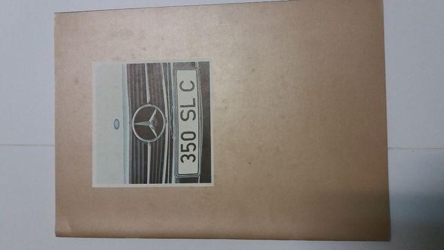 Brochura Mercedes Benz 350 SLC 1971