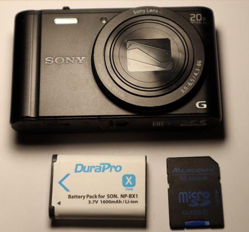 Фотоаппарат Sony Cyber-shot WX350 Black