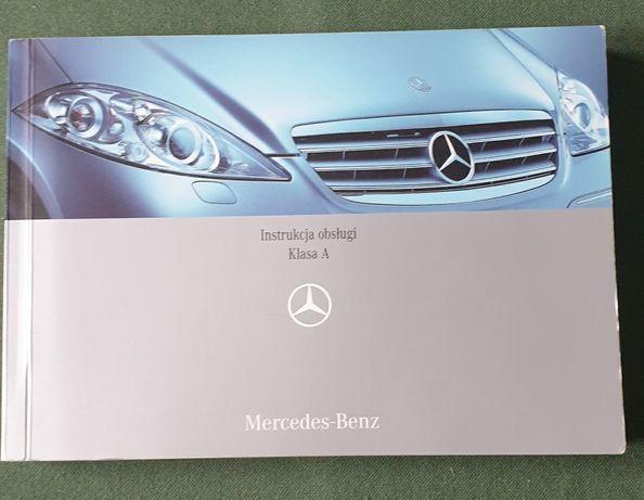 Instrukcja obsługi Mercedes Benz klasa A