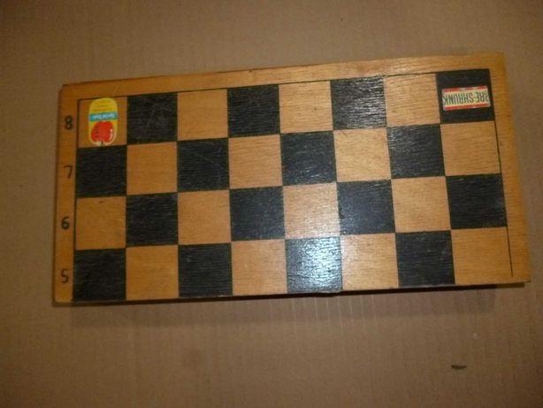 шахматы СССР деревянные средних размеров