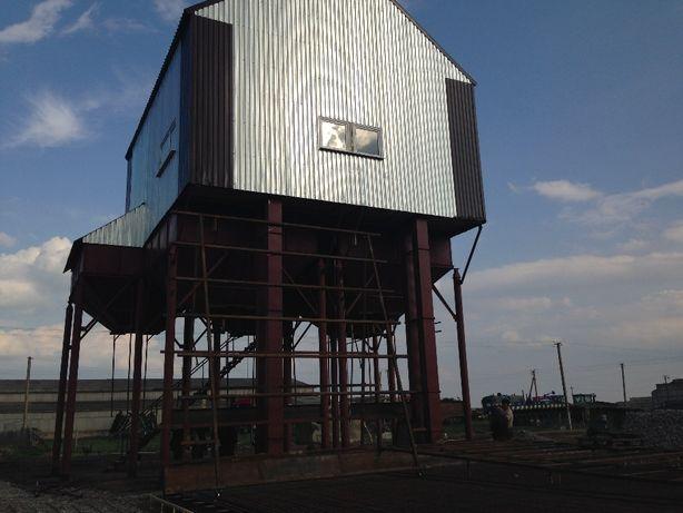 Строительство ЗАВ-20,25,30,50,100 на 1,2,3,4 бункера ,ремонт, з/ч