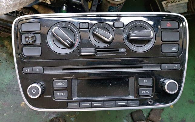 VW Up Skoda Citygo fabrycznie radio panel klimatyzacji wentylacji