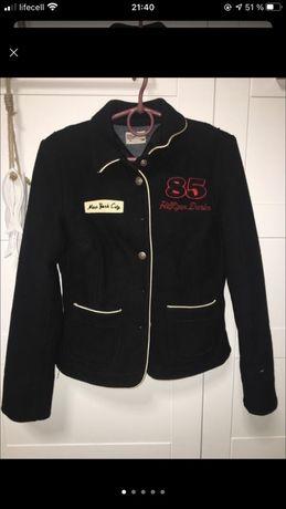 Теплый пиджак куртка  tommy hilfiger
